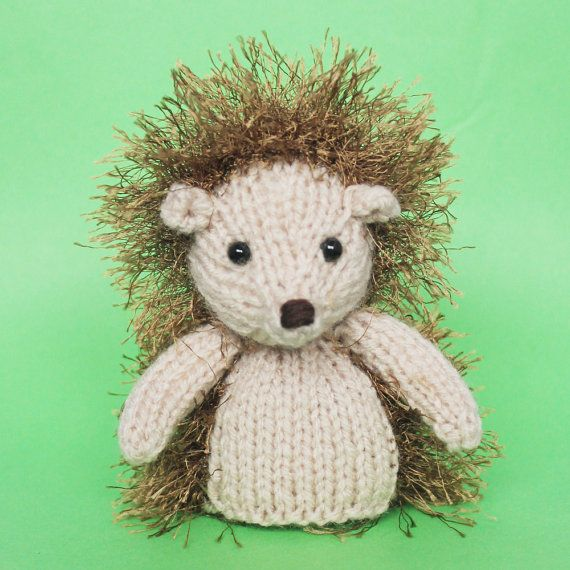 Hedgehog Knitting Pattern Toy Pdf Hedgehogs Knit Patterns And