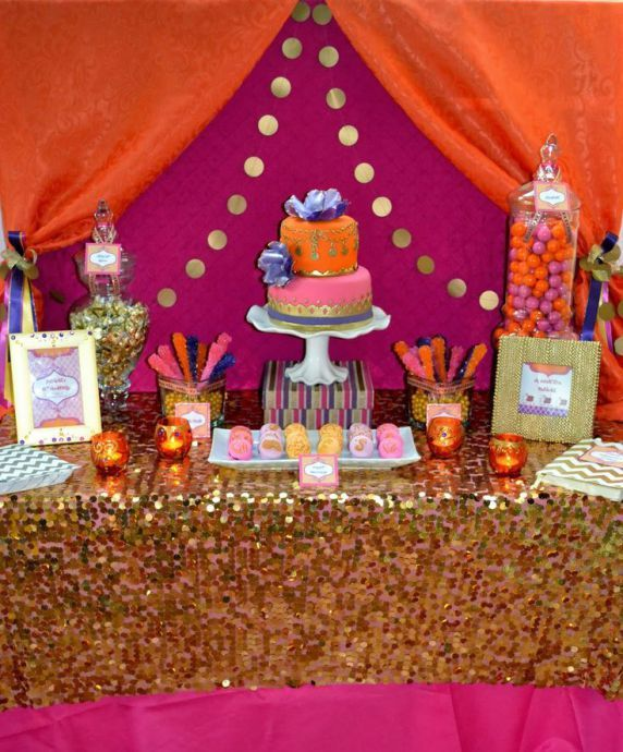 3dda0eb1f10 An Exotic   Colorful Bollywood Quinceanera Theme