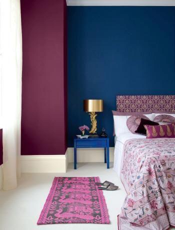 purple and blue bedroom color schemes. Violet And Blue Glamorous Bedroom | Purple Colour Scheme - Paint Walls . Color Schemes