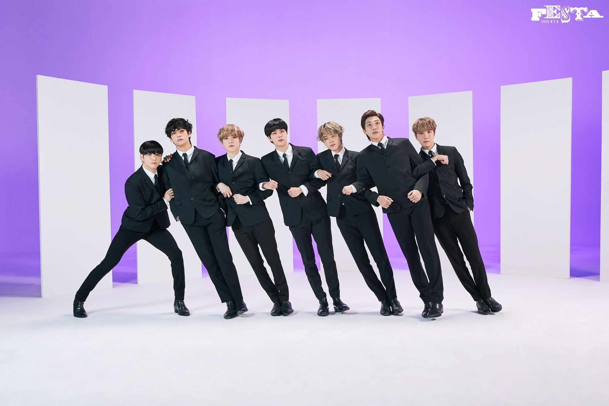 Update: BTS Reveals More Fun Family Portraits For 2020 BTS Festa