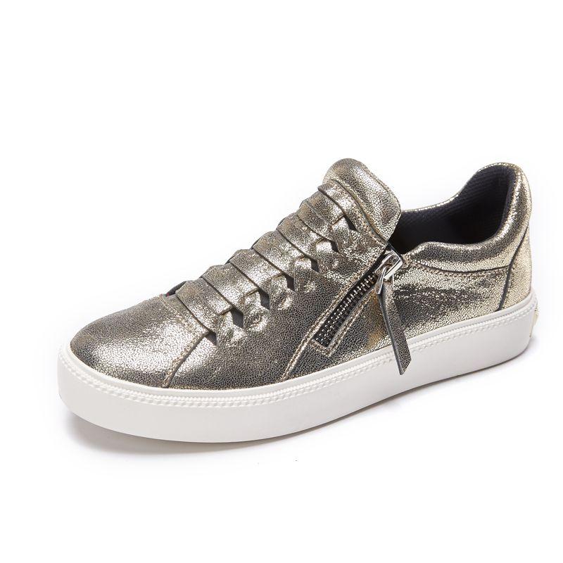88df5dac405fc Discount Aokang 2016 autumn Women shoes sheepskin leather loafers ...