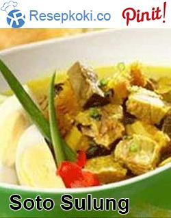 Resep Soto Sulung : resep, sulung, Resep, Sulung, Resep,, Makan, Malam,, Masakan