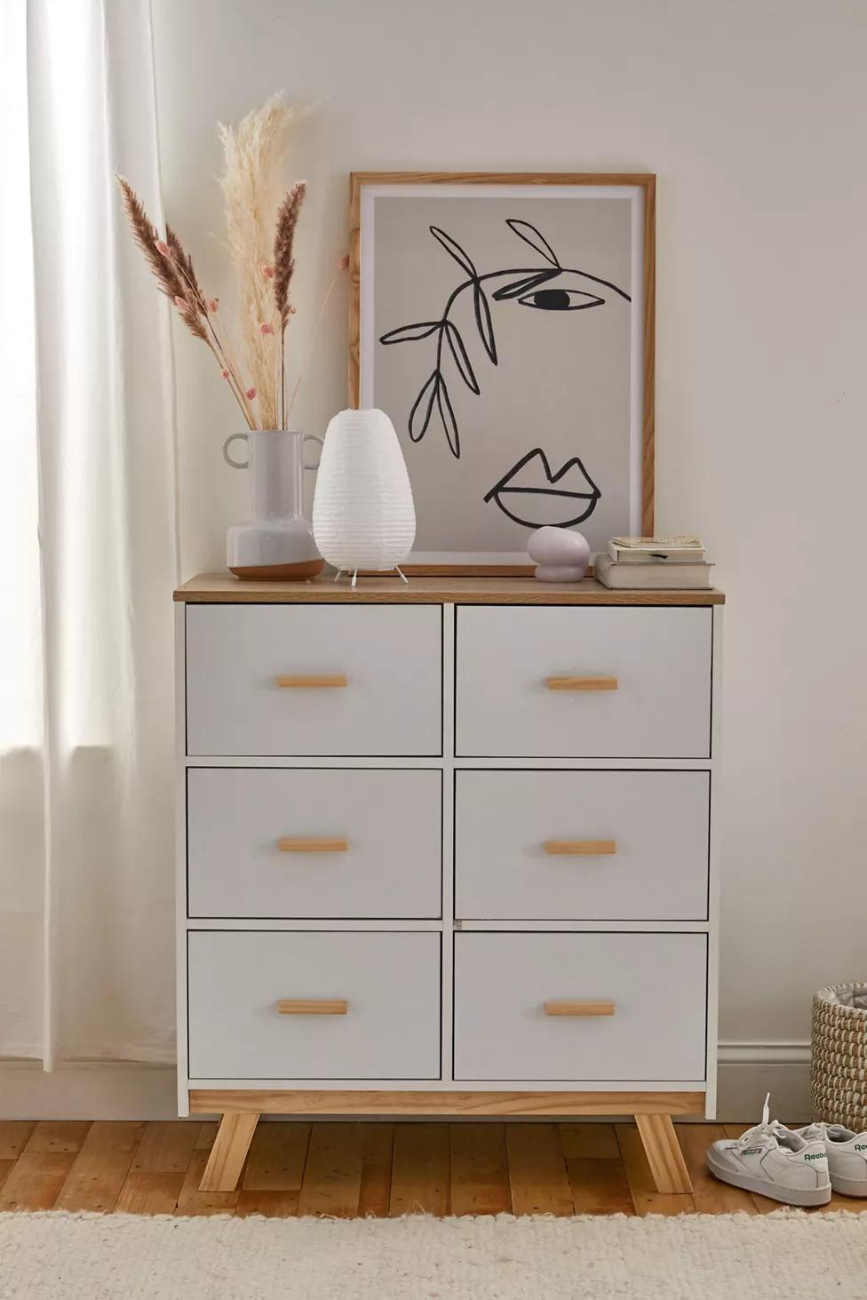 Piper 6 Drawer Dresser 6 Drawer Dresser Dresser Drawers Furniture [ 1463 x 976 Pixel ]
