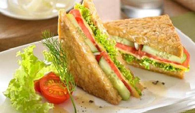 Yuk Bikin Tempe Sandwich Untuk Sarapan Besok Roti Lapis Resep Resep Makanan