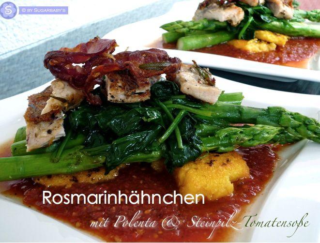 Jamie Oliver Rosmarinhähnchen, Polenta \ Spargel auf Steinpilz - serbische küche rezepte