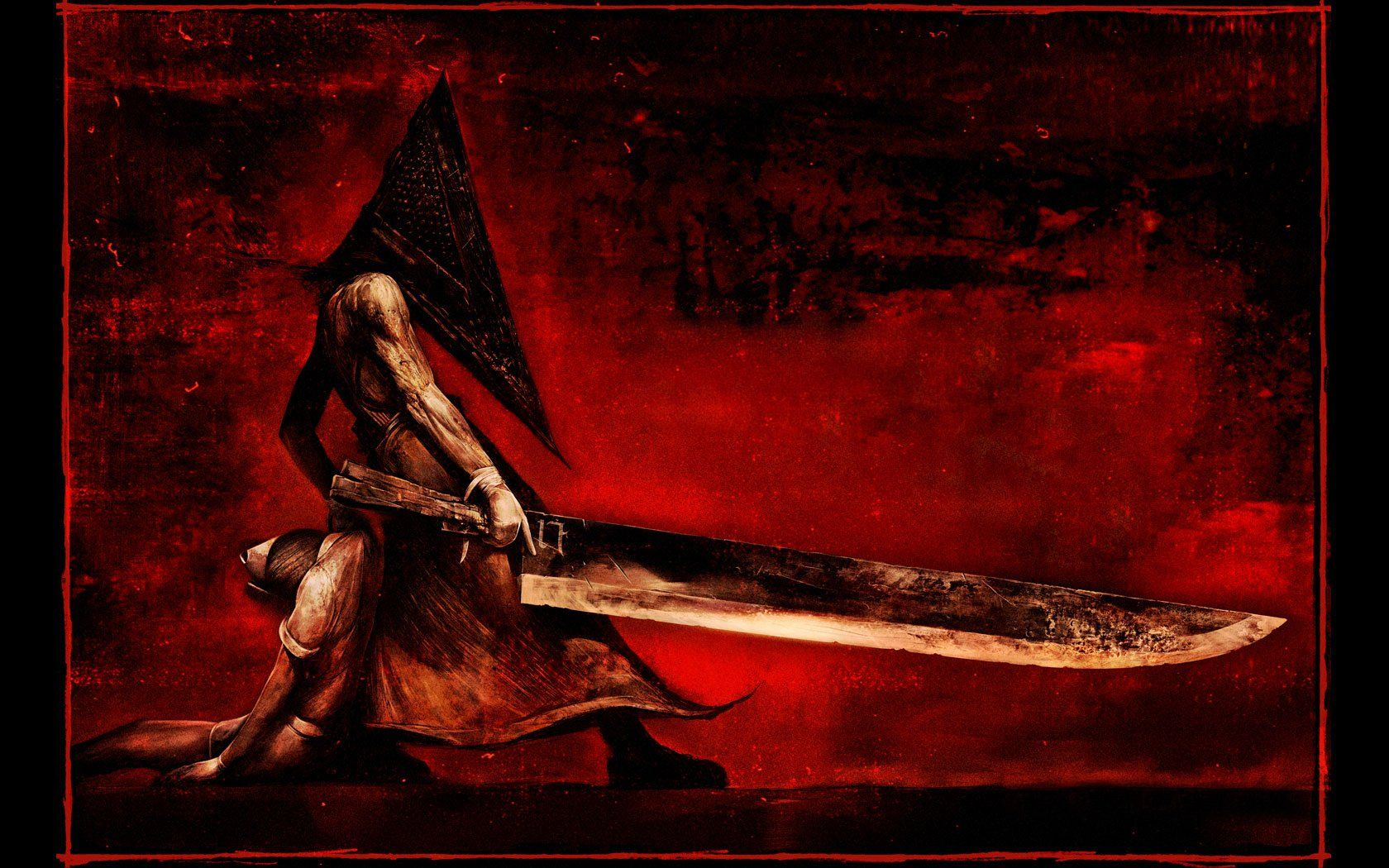 1680x1050 Silent Hill Wallpaper Background Image View Download Comment And Rate Wallpaper Abyss In 2020 Silent Hill Pyramid Head Silent Hill 2