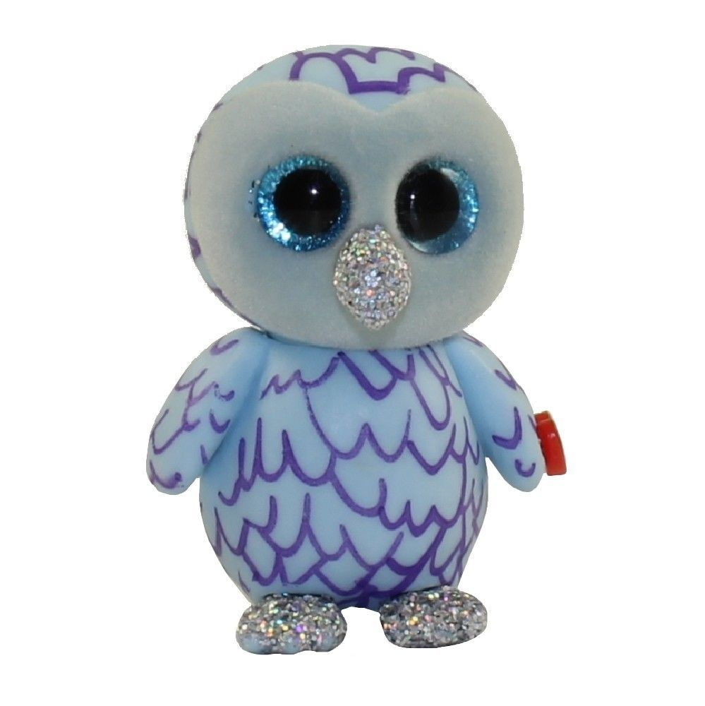 4a0ef4f6e75 Other Ty Beanbag Plush 1037  2018 Ty Beanie Boos Mini Boo Series 3  Collectible Figure - 2 Oscar The Blue Owl -  BUY IT NOW ONLY   13.95 on   eBay  other ...
