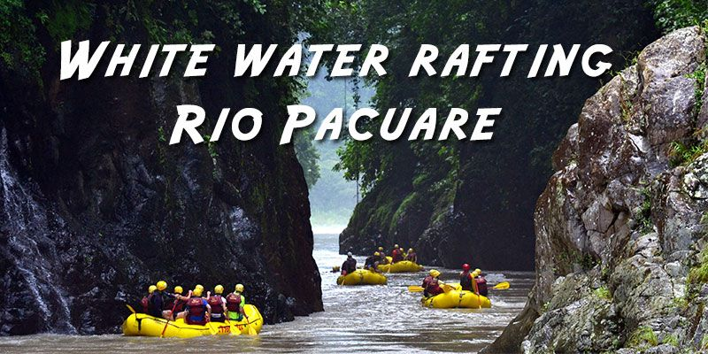 White water rafting at Rio Pacuare, Costa Rica. One of the best in the world!
