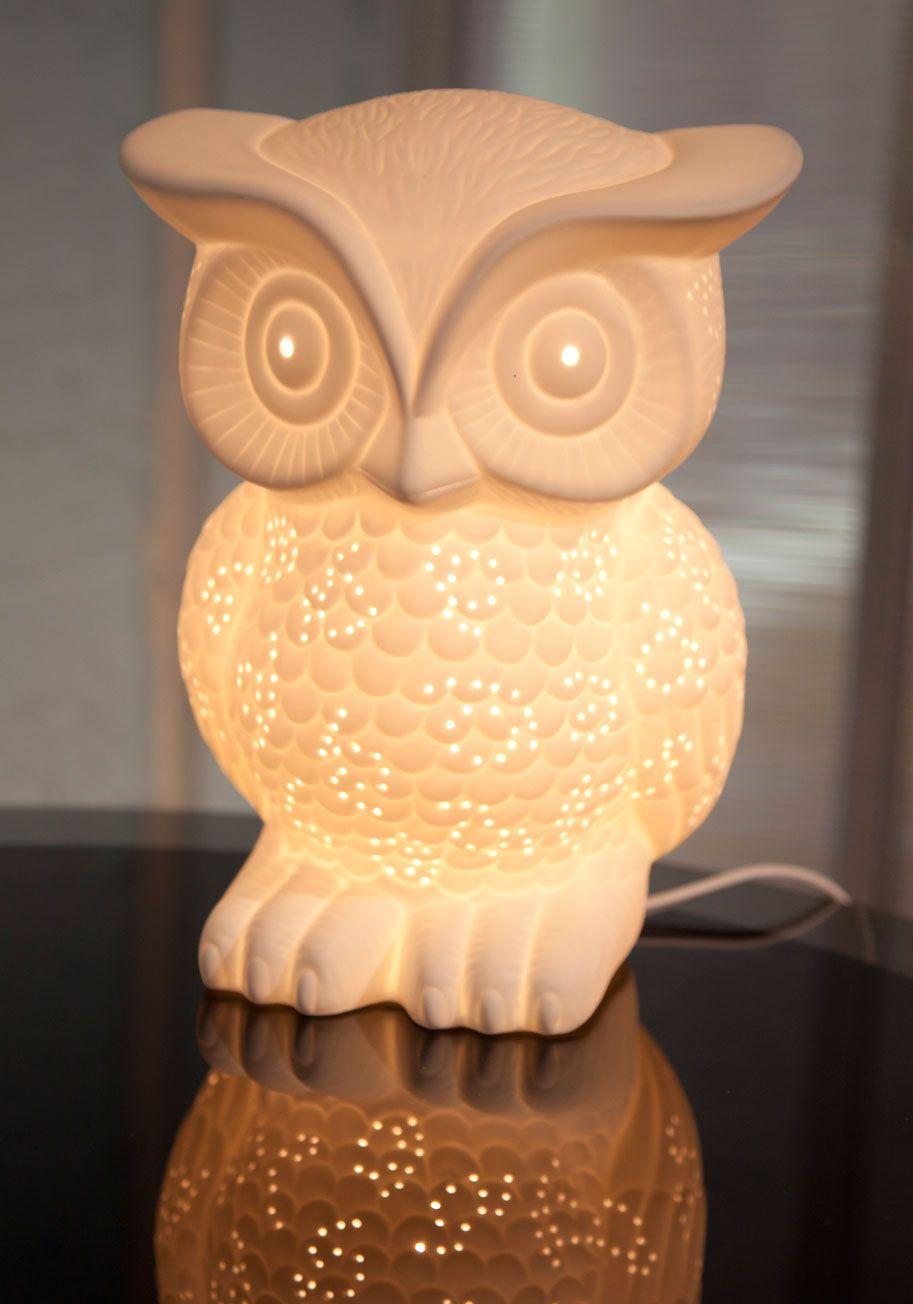 Nocturn Owl Lifestyle Lamp Modcloth Owl Lamp Owl
