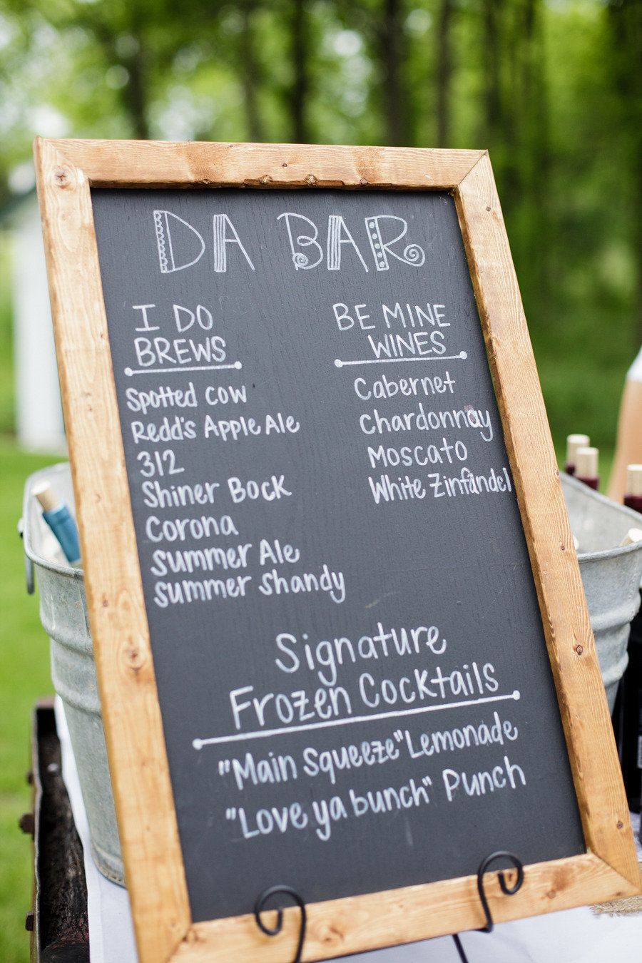 10 innovative menus for your modern wedding backyard bbq menu