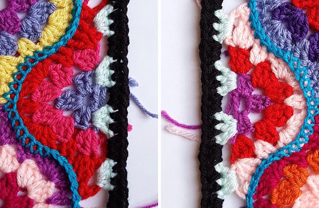 PROJECT #020: MOROCCAN GARDEN   Crochet para la vida!   Pinterest ...