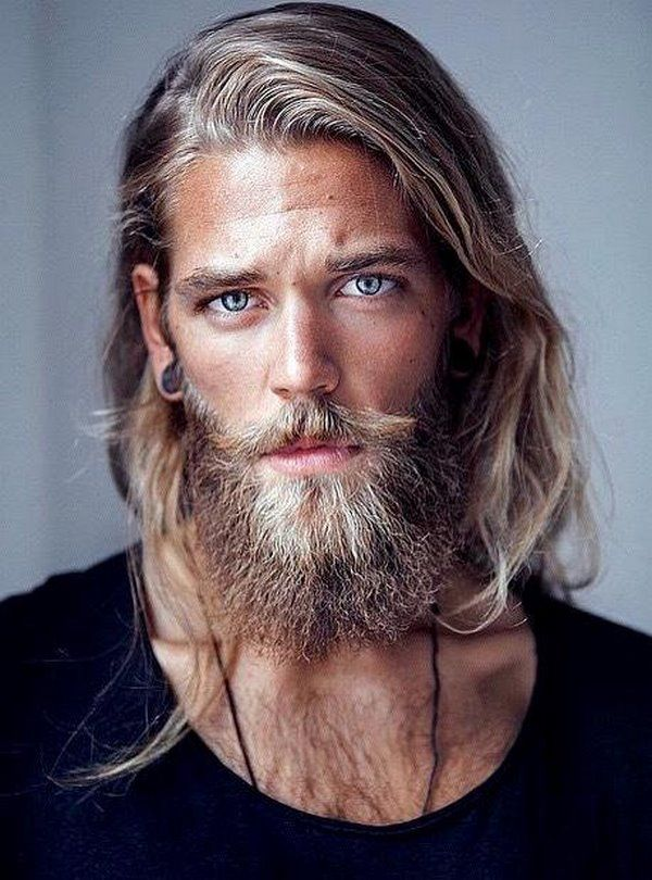 Long Hairstyles For Men Long Hair And Beard Casual Haircuts For Men #long #hairstyle #men