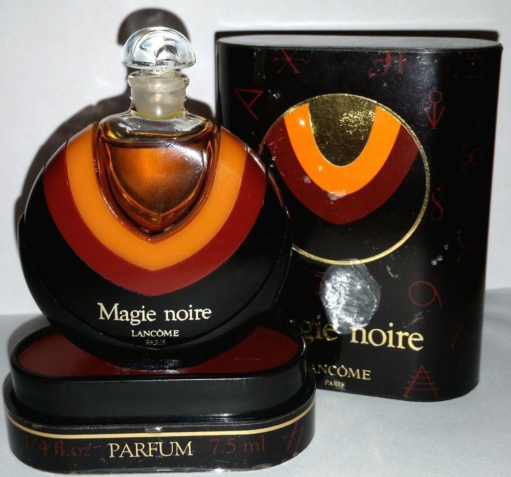Vintage Magie Noire Lancome Pure Parfum 1 4 Fl. Oz 7.5ml