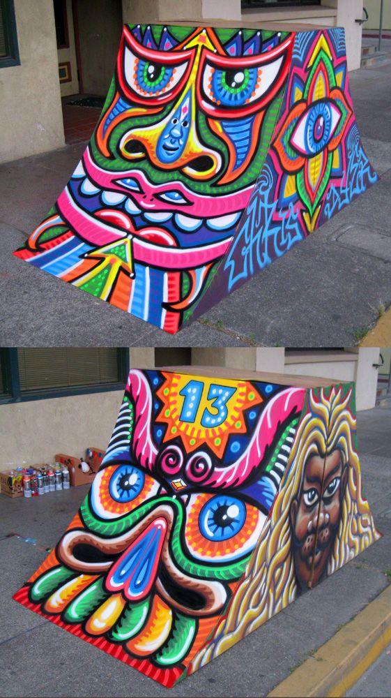 Chris Dyer Ukiah (CA) Jul 2011 Graffittis, Murales