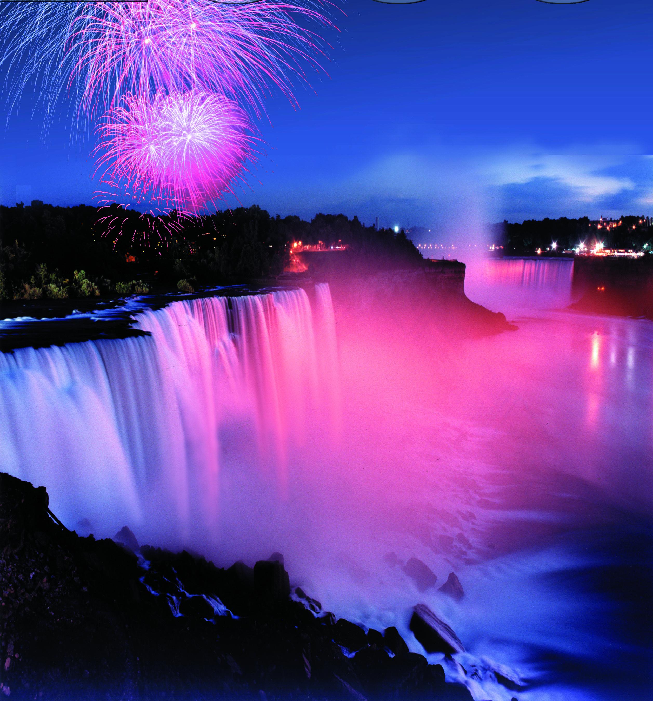 Nightly Illuminations At Niagara Falls State Park