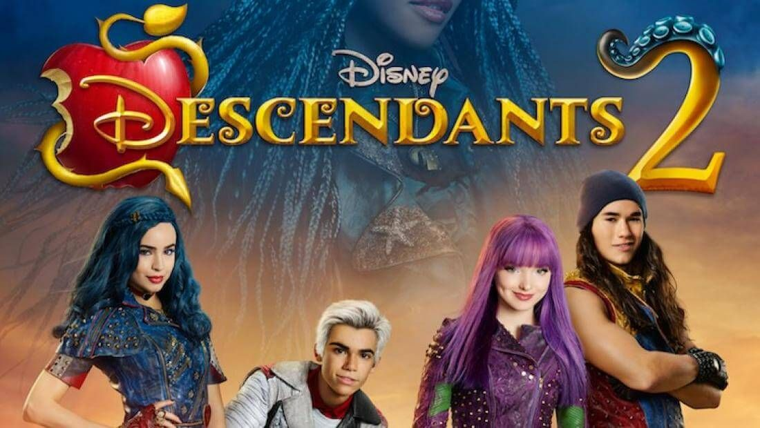 enjoy filling these printable descendants 2 coloring pages of all