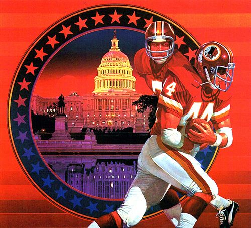 Damac Poster Art For Washington Redskins Poster Redskins