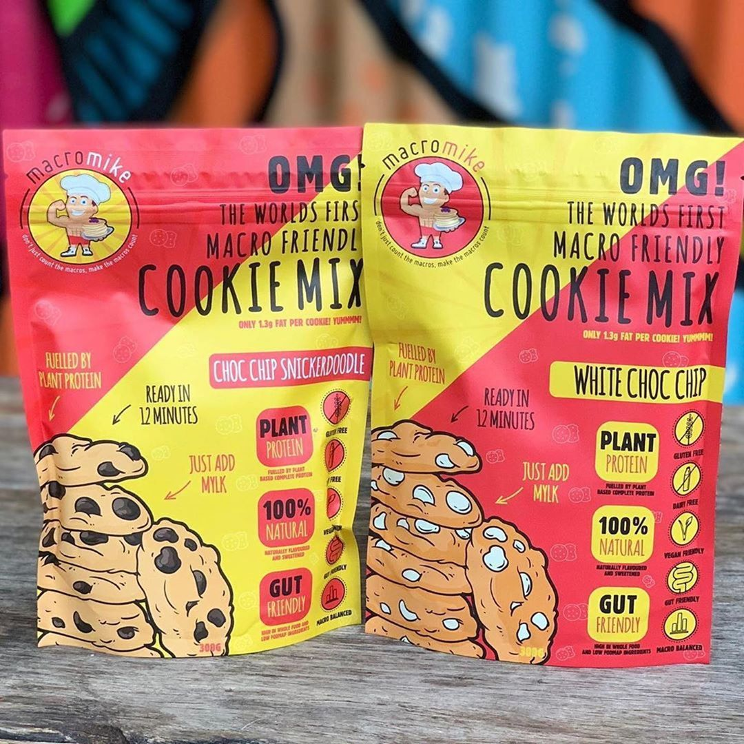Macro Friendly Cookie Mixes (300g) Plant based protein