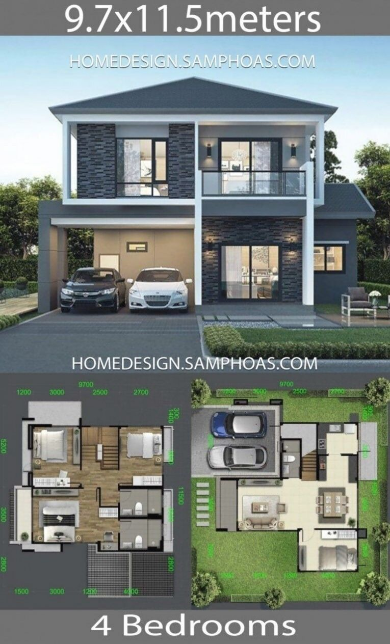 Best House Design Plans With Floor Plans House Plans 3d Di 2020 Arsitektur Rumah Arsitektur Rumah Indah