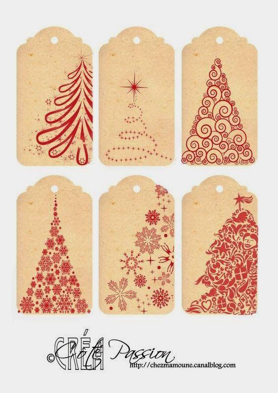 Imprimolandia: Etiquetas de Navidad | plantillas | Pinterest ...