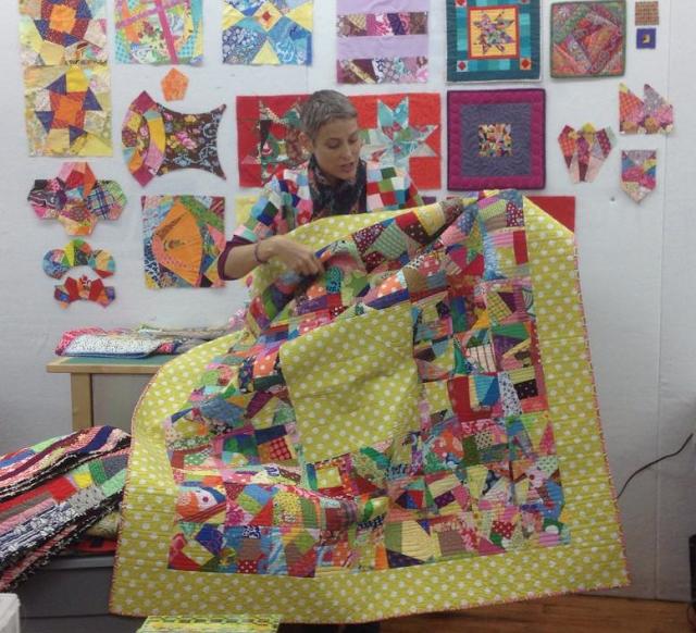 V Findlay Wolfe BLOG Great idea for scraps! | Scrappy Scrap Quilts ... : classroom quilt ideas - Adamdwight.com