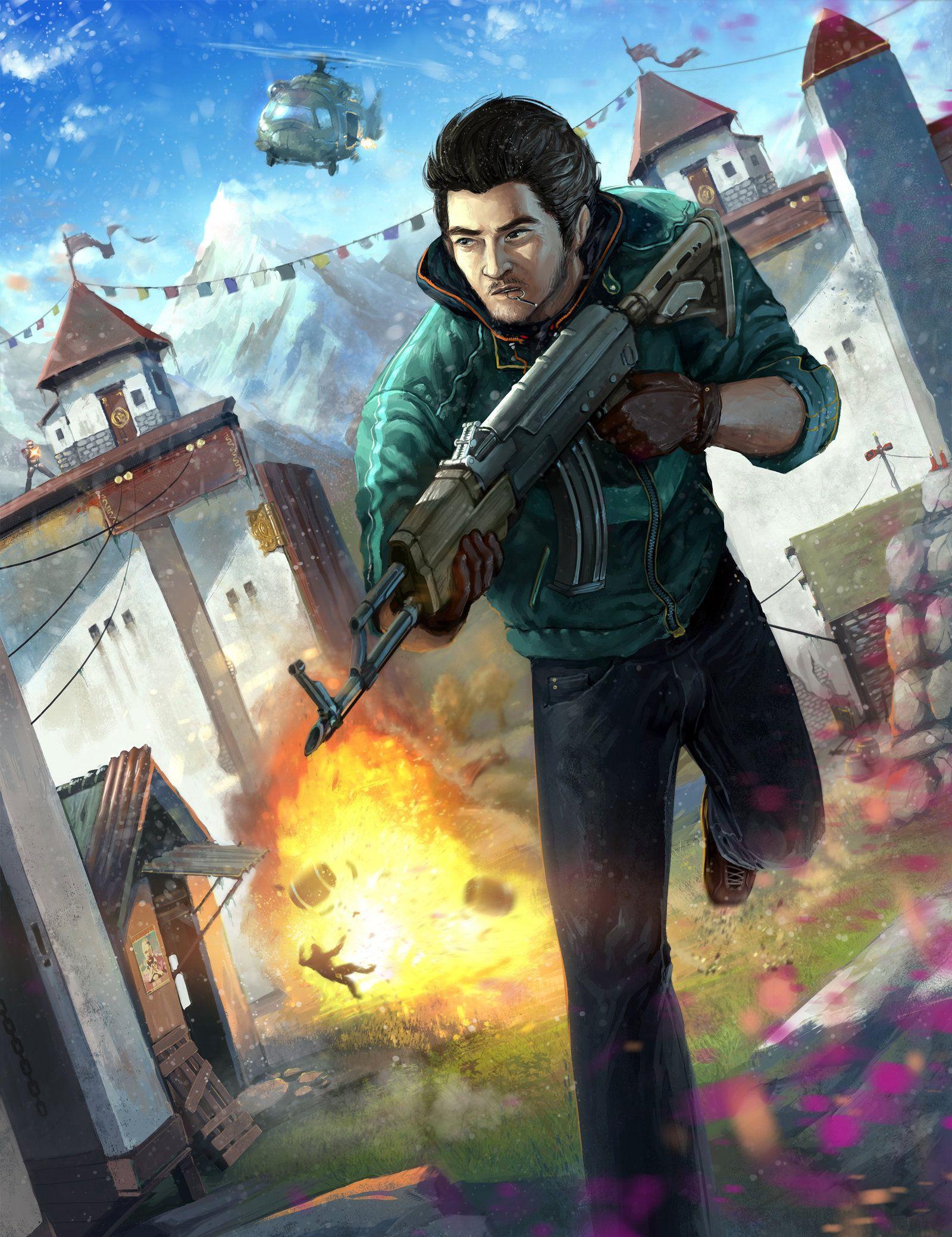 Far Cry 4 Ajay Ghale By Makingpicsslowlydeviantartcom -5724