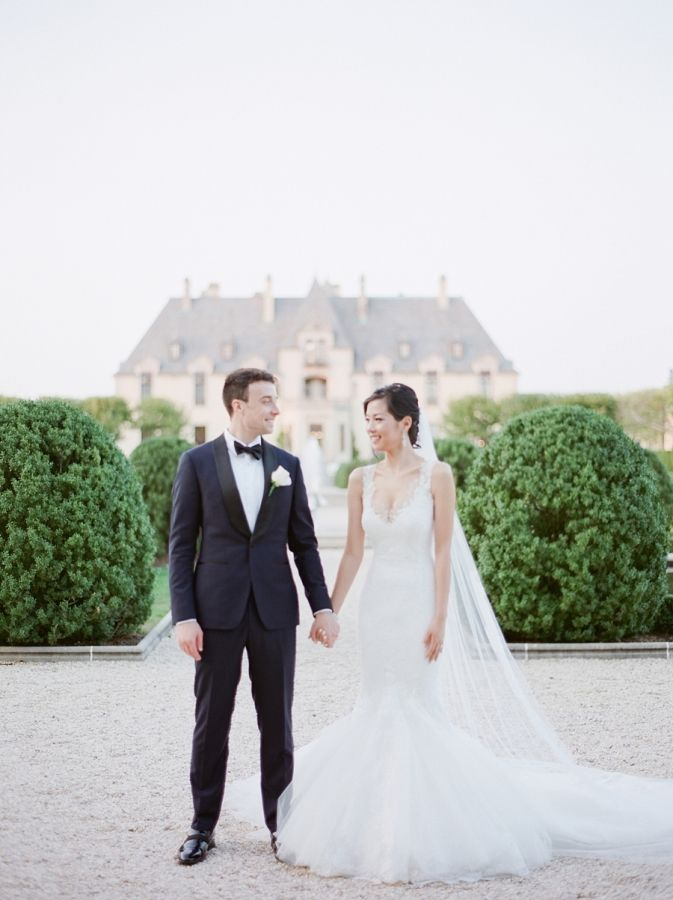 A Castle Played Backdrop to their Fairytale Wedding ...