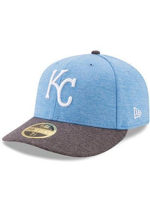 online store ab588 cc10d KC Royals New Era Mens Grey 2017 Fathers Day AC LC 59FIFTY Fitted Hat