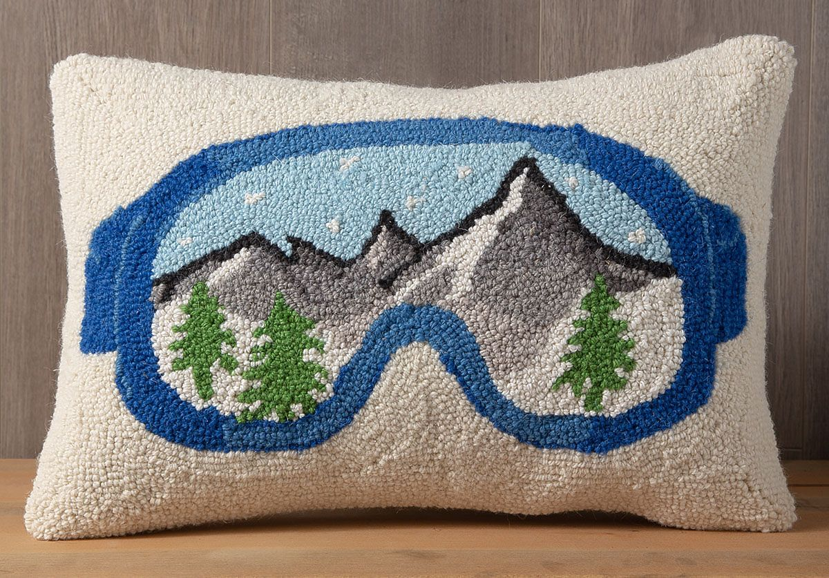 Ski S Mountain Home Gift Guide 2019 Hooked Pillow Ski House Decor Ski Decor