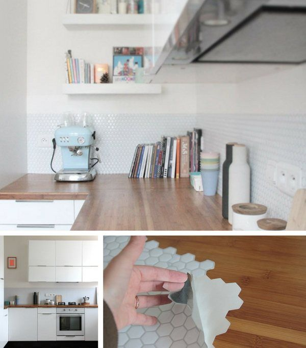 Credence Cuisine En 47 Photos Idees Conseils Inspirations Credence Cuisine Carrelage Adhesif Cuisine Cuisine De Location