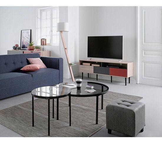 Meuble Tv Pas Cher Table Basse Industrielle Table Basse Mobilier Salon