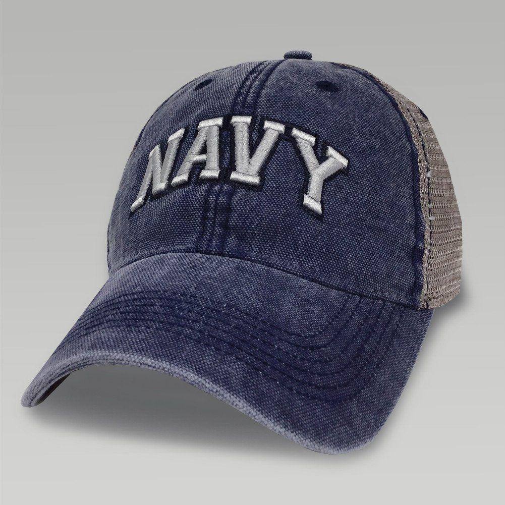 Navy dashboard trucker hat (navy/grey) | Navy Hats we