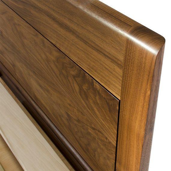 Delaware Solid Wood Platform Bed Frame: Modern Platform Bed No. 2