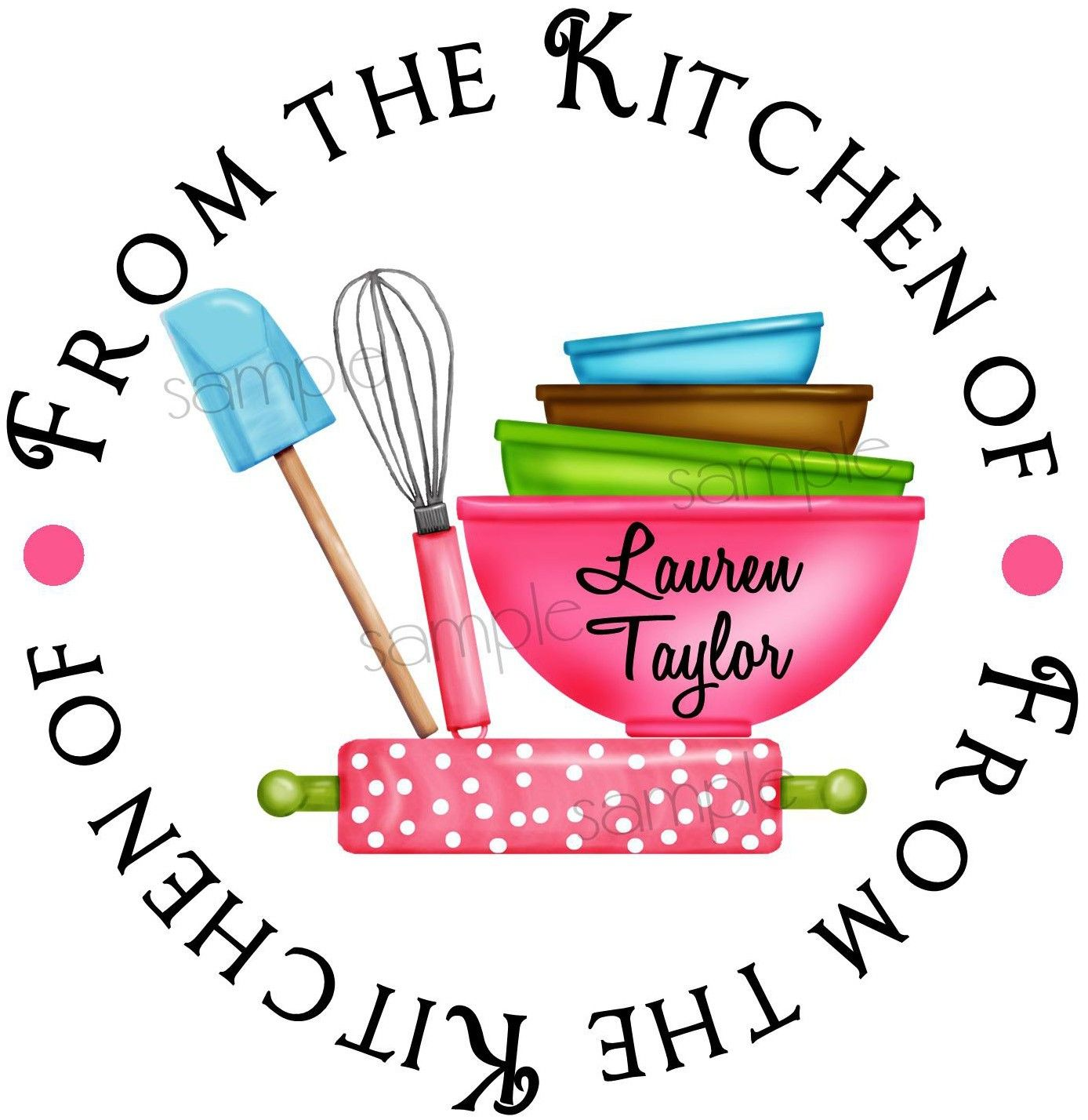 kitchen stickers baking labels kitchen supplies rolling pin rh pinterest com from the kitchen of labels free download from the kitchen of labels personalized