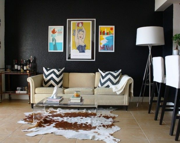 28 Perfect Cowhide Rug Ideas For Your Home Ikea Living Room