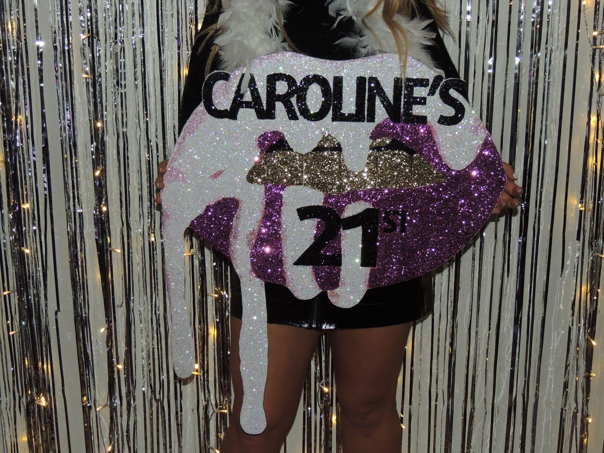 21st birthday sign!! #21stbirthdaysigns