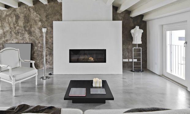 Afbeeldingsresultaat voor betonnen vloer keuken houten woonkamer ...