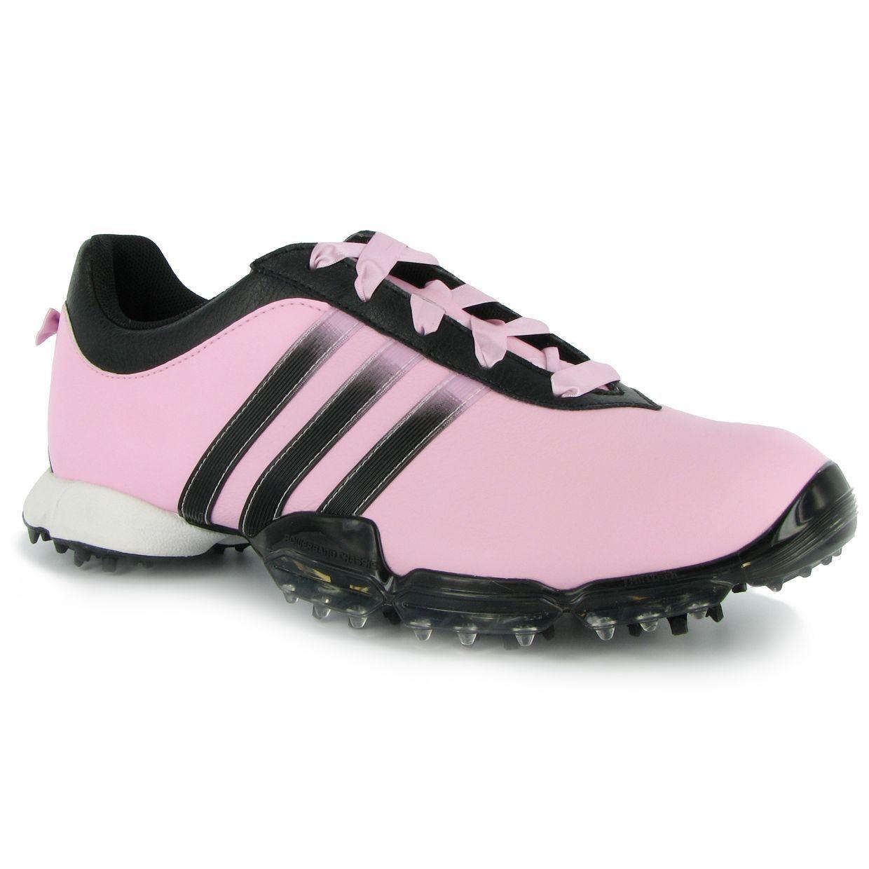 Adidas signature PAULA 2.0 Pale Pink Black Black 6 Medium Ladies Golf Shoes  . f8e86c1b2