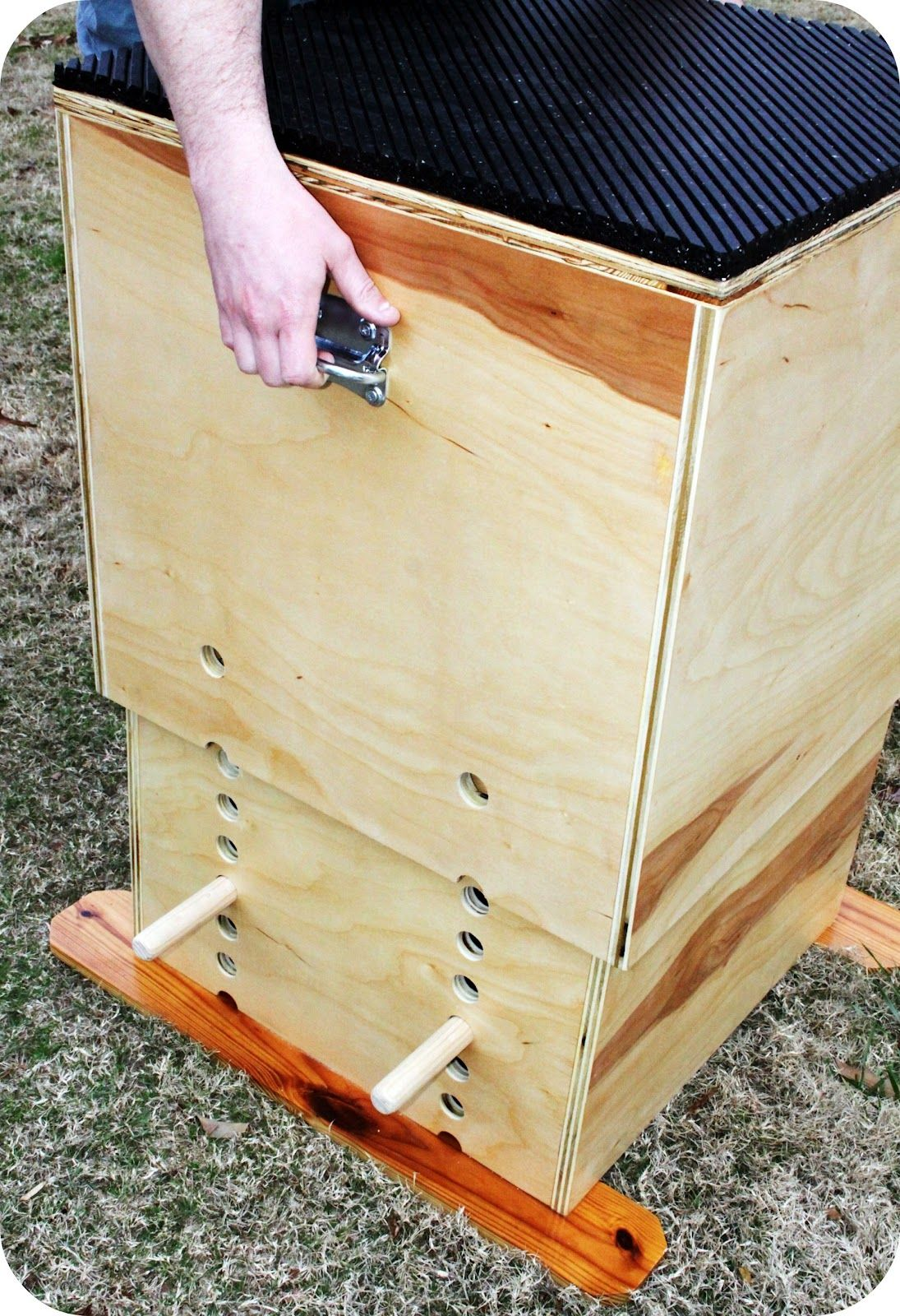 Trendytoolbox: adjustable wooden plyo box stuff plyo box diy
