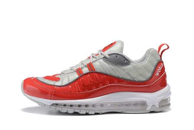 Popular Supreme x Nike Air Max 98 Varsity Red 844694 600