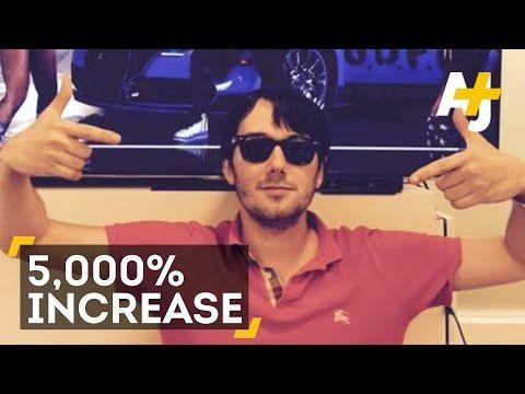 Ex-Hedge Fund Guy Raises Price Of AIDS Drug Daraprim By 5,000 Percent - YouTube