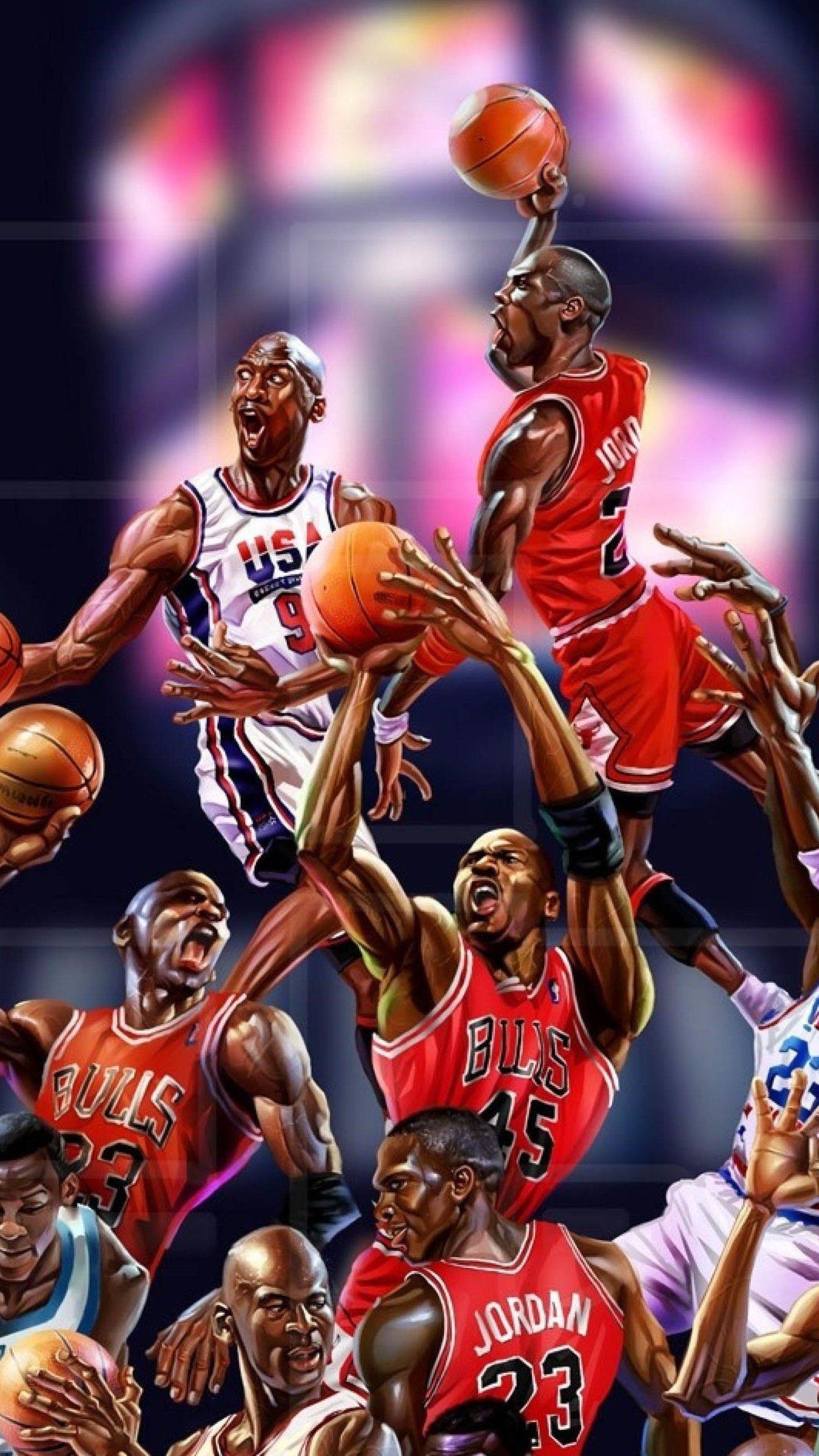 Michael Jordan Art HD Wallpaper in 2020 (With images