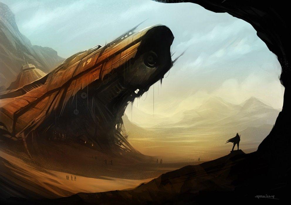 Desert scifi - Clickasnap