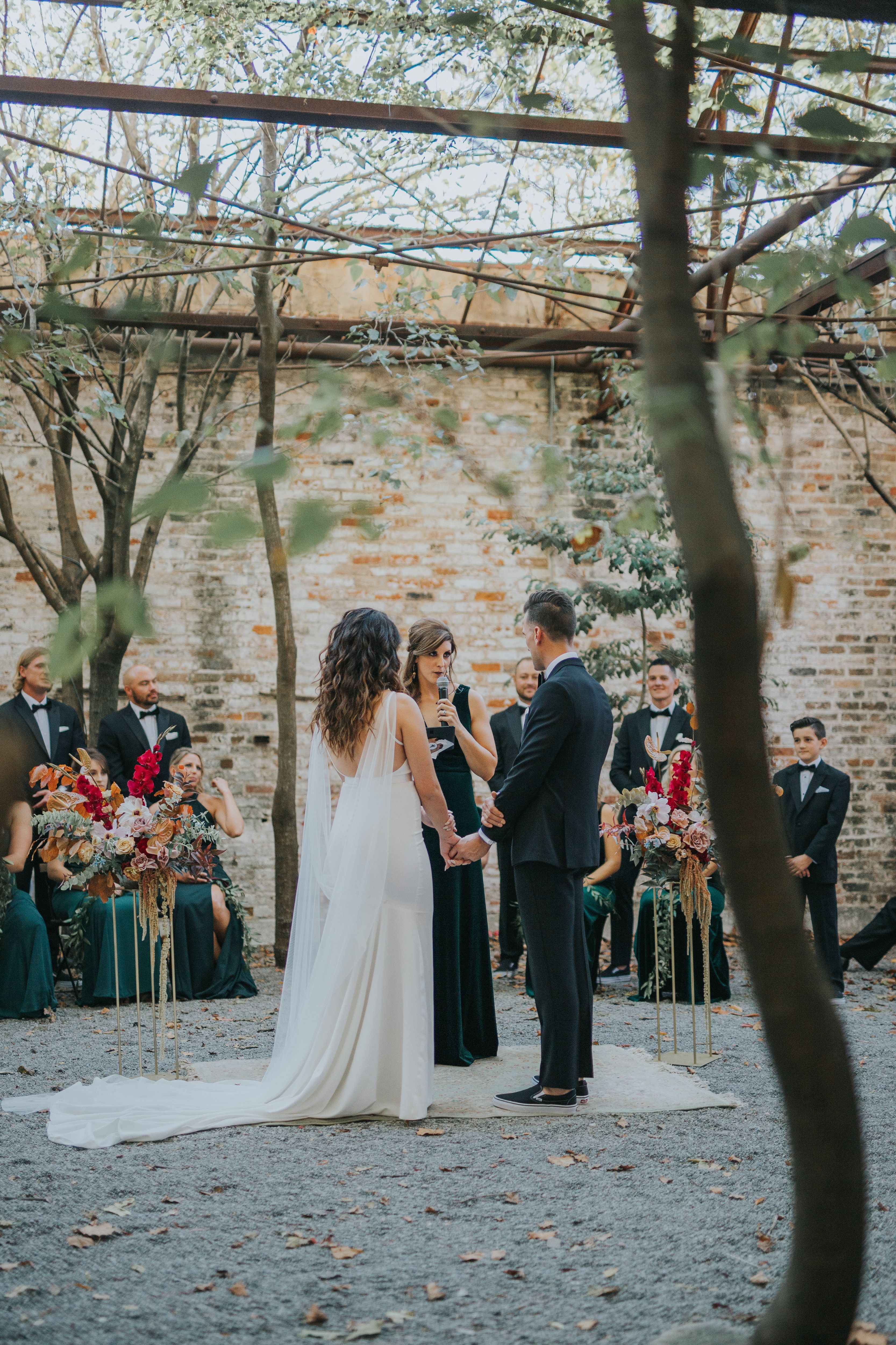 Arts Estuary Ceremony In New Orleans W Lovegood Wedding Event Rentals In 2020 Event Rental Wedding Events Wedding