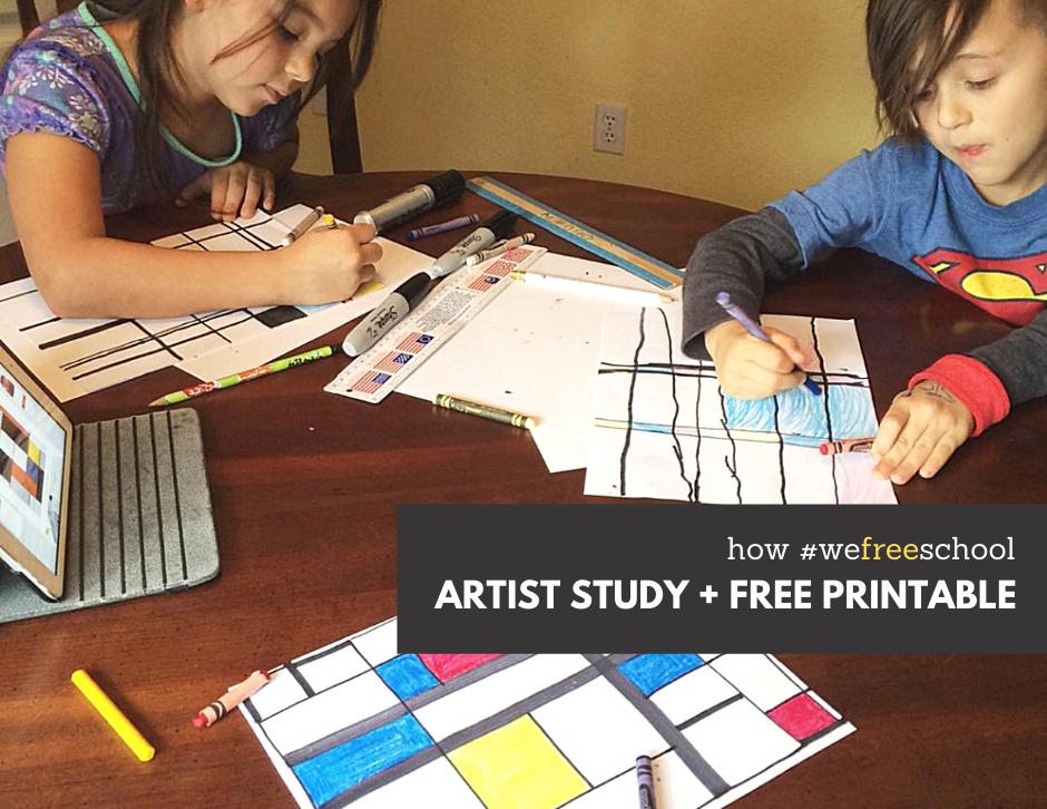 How We Do Artist Studies in 2020 Study, Homeschool