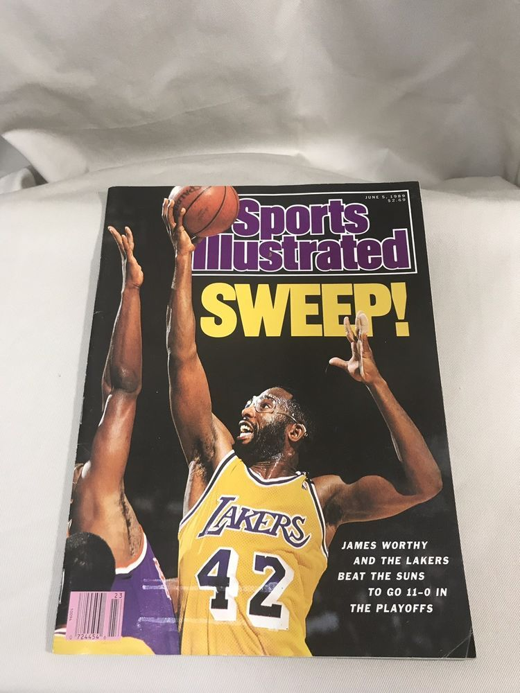 James Worthy Cover June 5 1989 Sports Illustrated Magazine