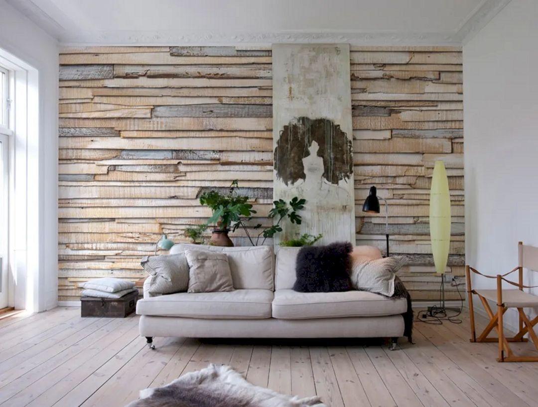 15 Astonishing Living Room Wood Wall Decoration Ideas In 2020 Modern Wallpaper Living Room Living Room Wallpaper Trends Living Room Ceiling Wallpaper