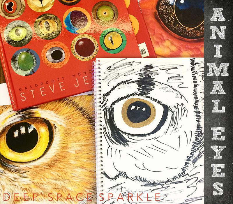 Animal Eye Art Project