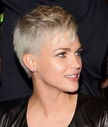 Image Result For Super Short Shaved Back And Sides Women Haircuts Super Short Hair Short Hair Styles Pixie Pixie Haircut