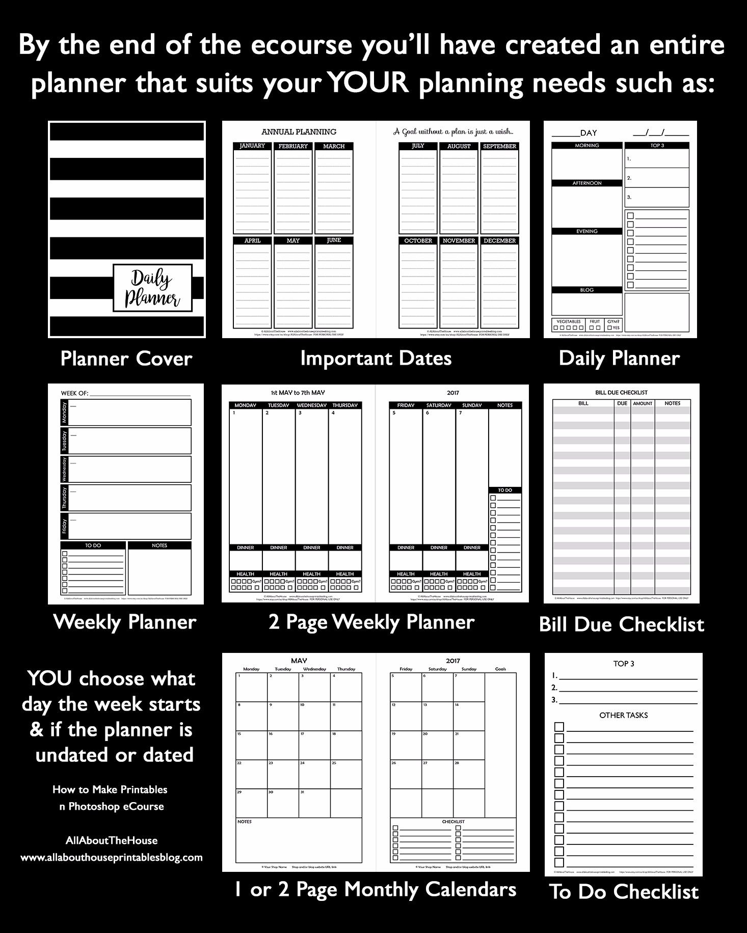 How To Make Printables In Photo Build A Ger Online Business